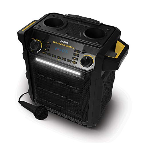 Ion Explorer Outback 2 Bluetooth Water Resistant Speaker System - Black