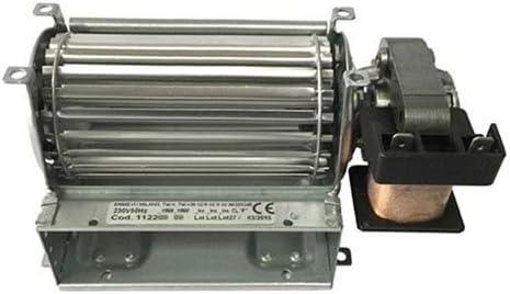 Motor Ventilador Ventilador tangenziale para estufa de pellets 120 ...