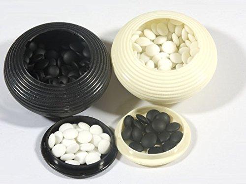 Go-Spiel: Yunzi-Steine, linsenförmig