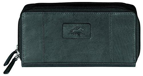 mancini-rfid-secure-ladies-double-zipper-wallet-black-under-seat