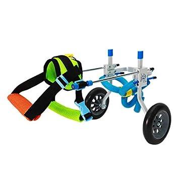 Homyl Carrito de Sillas Ruedas para Mascotas Complimentos Mascota Color Brillante Ecológico Duradero - XXS: Amazon.es: Juguetes y juegos