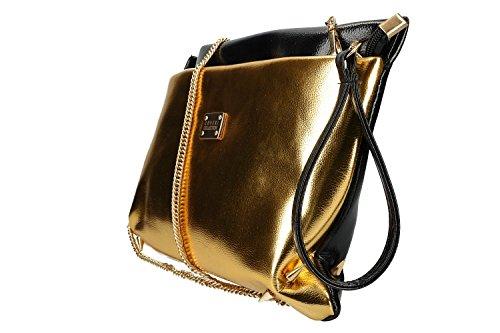 Coveri A Tracolla Oro Cerniera Borsa Donna Pochette Vn2421 Apertura Collection BgC1xwBqr