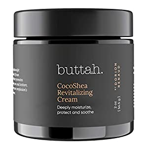 Best Epic Trends 41Bmx0fBSrL._SS300_ Buttah Skin CocoShea Revitalizing Cream 2oz - Natural & Organic African Shea & Cocoa Butter - Best Face Moisturizer for…