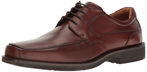 ECCO Men's Seattle Apron Toe Tie Oxford, Cognac/Brown, 40 EU/6-6.5 M US by ECCO