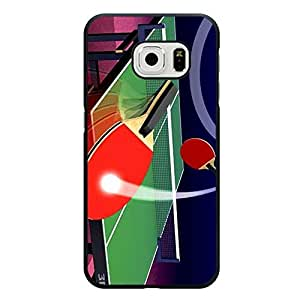 Perfect Classical Table Tennis Phone Case Cover For Samsung Galaxy s6 Edge
