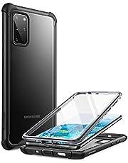 Case Capa Capinha Samsung Galaxy S20 Plus, Capa Clayco Forza Series para Samsung Galaxy S20 Plus, Protetor de Tela Integrado Compatível com ID de impressão digital, Capa robusta para todo o corpo, 6,7 polegadas, 2020 (Preto)