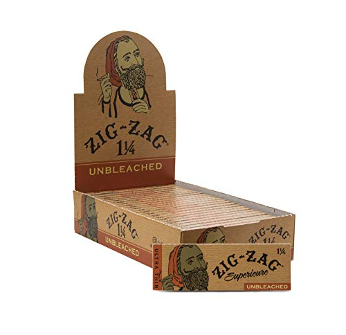 Zig-Zag Unbleached Rolling Papers 1 and 1/4