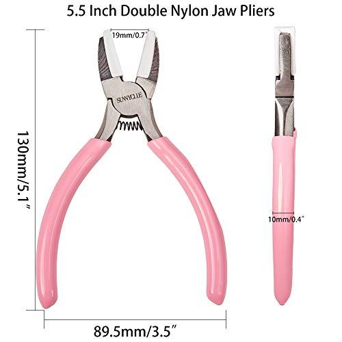 Amazon.com: SUNNYCLUE - Alicates de punta plana de nailon ...