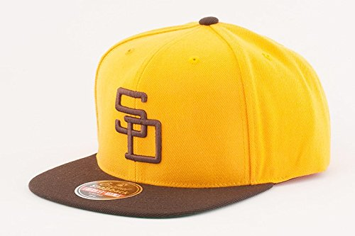 san-diego-padres-mlb-1972-retro-400-series-cooperstown-adjustable-snapback-cap