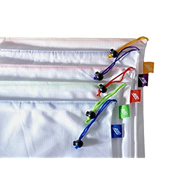 AVID - Reusable Produce Bags Set Of 5 (5, 12 x14 )