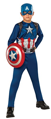 Captain+America Products : Rubie's Costume Captain America 3: Civil War Kids Value Costume, Small
