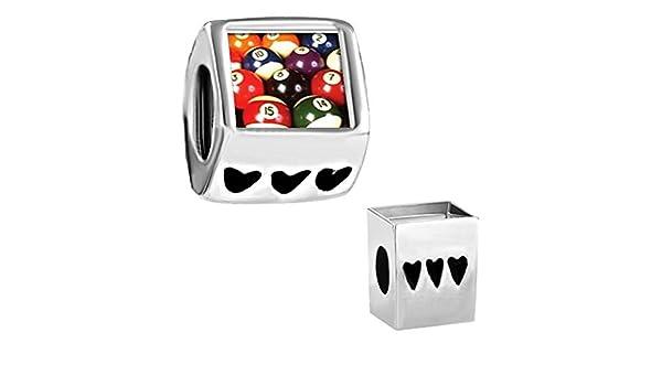 Bola de billar Set Pugster venta de fotos de ajuste de cuentas encanto Chamilia Pandora baratos pulsera de trol: Pugster: Amazon.es: Joyería