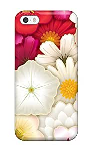Durable Case For The Iphone 5/5s- Eco-friendly Retail Packaging(flower)
