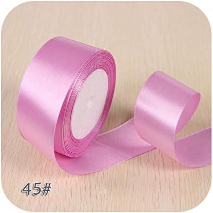 6ミリメートル1センチ1.5センチ2センチ2.5センチ4センチ5センチサテンリボンDIY人工シルクバラ工芸用品縫製アクセサリースクラップブッキング素材-NO 45-2cm
