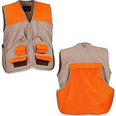 WFS Upland Hunting Game Vest Tan/Orange