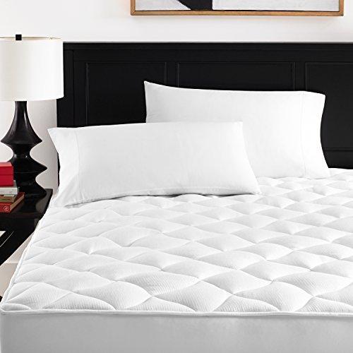 Zen Bamboo Ultra Soft Rayon Derived From Bamboo Mattress Topper - Premium Hypoallergenic Mattress Pad - Queen