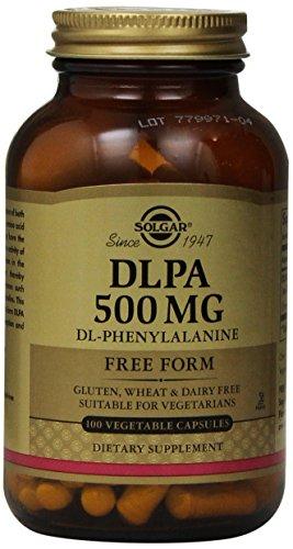 Solgar - DLPA 500 mg Vegetable Capsules 100 Count