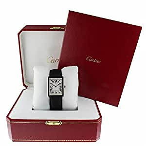 Cartier Tank Solo Quartz Female Watch WSTA0028 (Certified Pre-Owned)