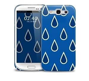 rain drops Samsung Galaxy S3 GS3 protective phone case