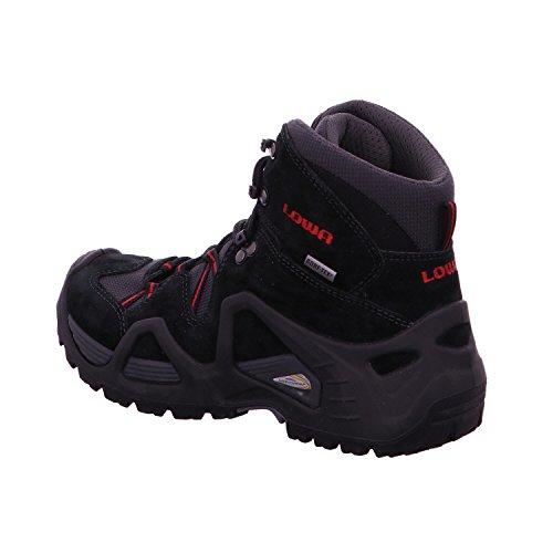 Lowa 3205859901 - Zapatillas de senderismo para mujer Negro - negro