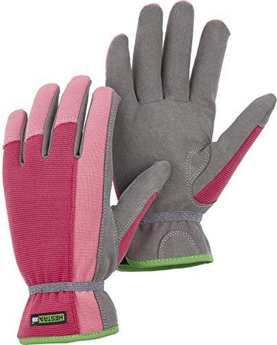 884949d242676 Robin Gardening Gloves for Women (Size 6/Extra Small, Fuchsia/Grey)
