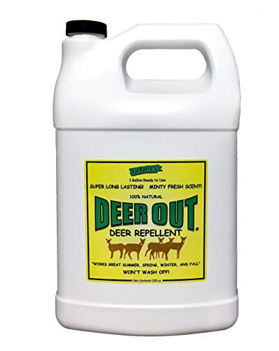 - Deer Out 1 Gallon Ready-to-Use - Refill Deer Repellent