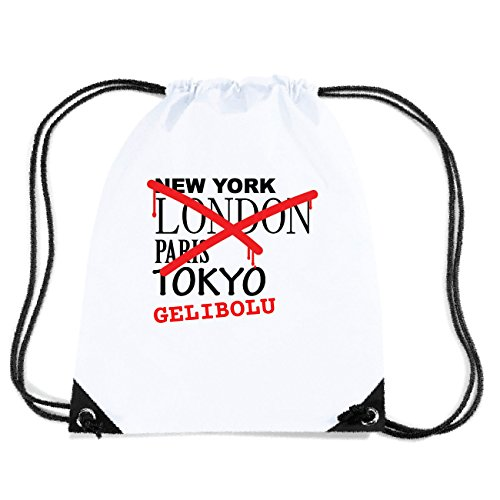 JOllify GELIBOLU Turnbeutel Tasche GYM2986 Design: Graffiti Streetart New York