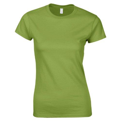 Softstyle™ Women's ringspun t-shirt COLOUR Kiwi SIZE L