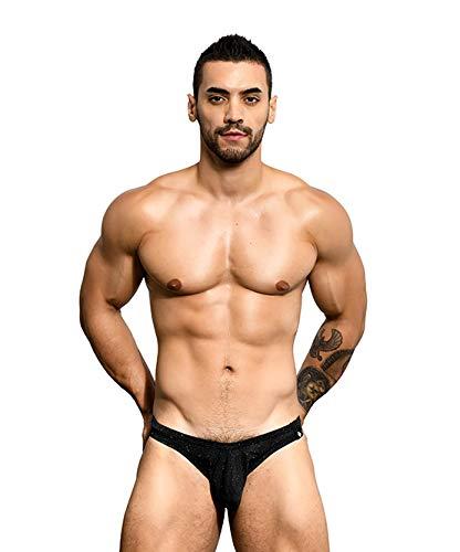 - Andrew Christian Sparkle Bikini Black