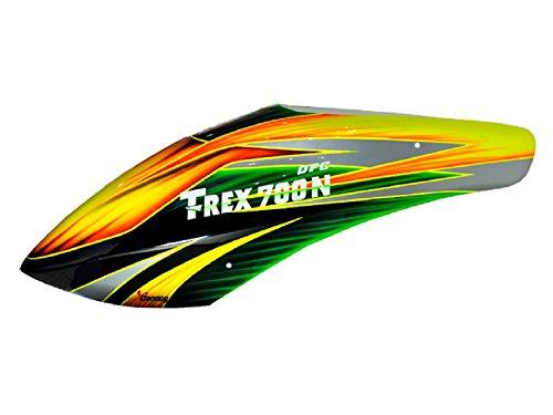 XCanopy Airbrush Fiberglass Titan Canopy - TREX 700N DFC