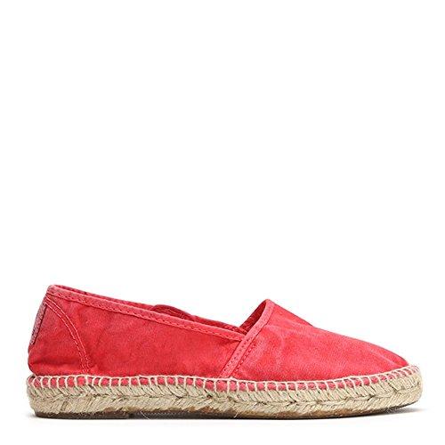 Naturlig Värld Kvinna Canvas Espadrille Sneakers 625e-w Fresa Sz 35