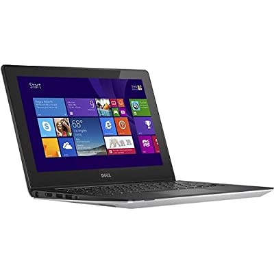 "Dell Silver Inspiron 11.6"" I3135-3751SLV Laptop PC with AMD A6-1450 Quad-Core Processor, 4GB Memory, Touchscreen, 500GB Hard Drive and Windows 8.1"