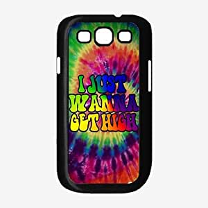 I Just Wanna Get High Plastic Phone Case Back Cover Samsung Galaxy S3 I9300