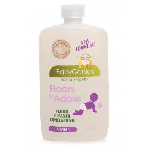 Babyganics Floors to Adore Floor Cleaner Concentrate Lavender -- 16 fl oz