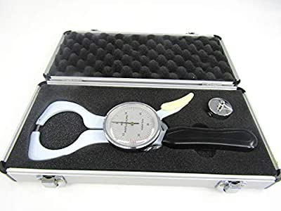 JIAWANSHUN Accuracy Body Fat Tester Calculator Skin fold Caliper Analyzer Body Fat Caliper Measuring Tool