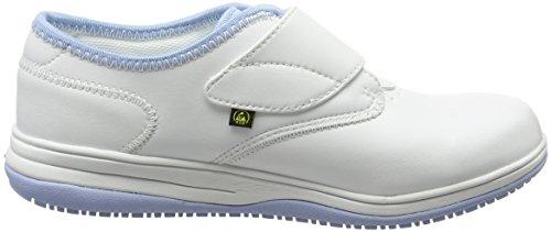 Oxypas Medilogic Emily Slip-resistant, Antistatic Nursing Shoe, White (Lbl), 5.5 UK (39 EU) blanco - White (Lbl)