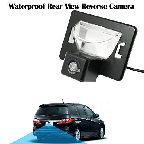 MaxFox ,Back Up Camera for Mazda 5/Ford I-MAX Waterproof Rear View Reverse Camera (Black)
