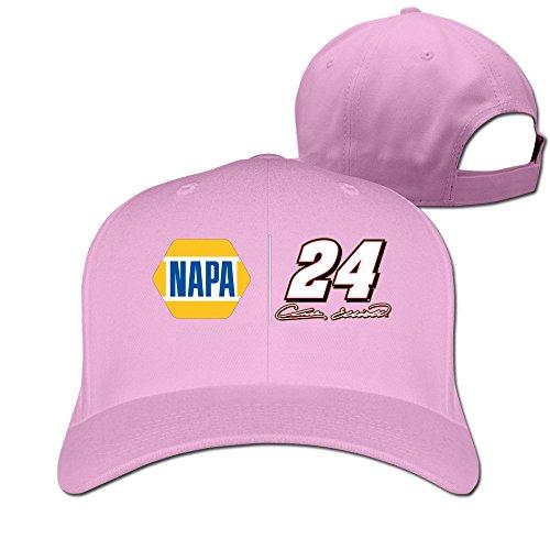 BODAP Chase Elliott 2016 Daytona 500 Champion Logo Adjustable Baseball Cap Pink