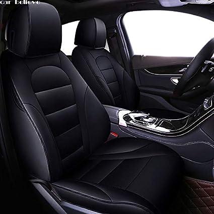 Amazon.es: MTSSH Car Believe Funda de Asiento de Coche para VW ...