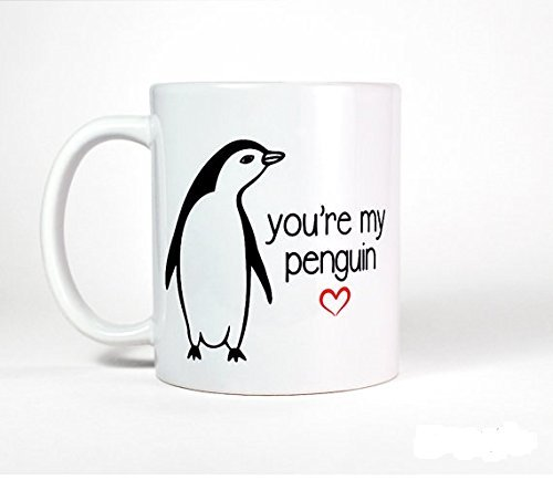 Boyfriend Gift for Him   You're My Penguin Mug   Anniversary Gift for Boyfriend Mug   Gift for Husband-Anniversary Gift for Men-Wife Gift