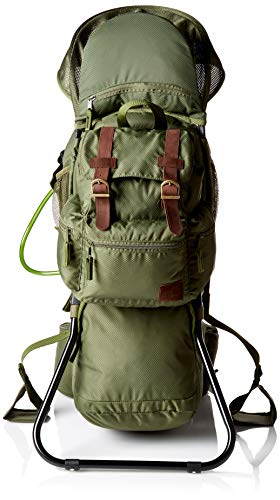 Be Mindful Retro Scout Baby Carrier Backpack in Jungle ()