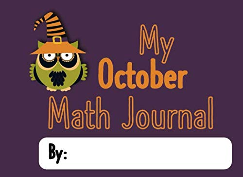 My October Math Journal: Math Journal Prompts for
