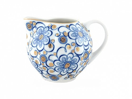 Lomonosov Imperial Porcelain Bindweed Drinkware Teaware Cups Collection - Porcelain Lomonosov Creamer