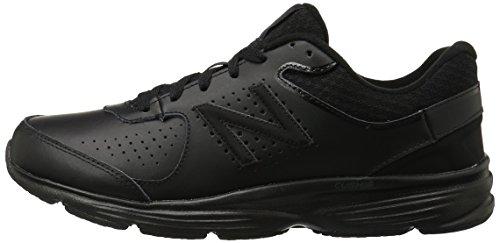 New Balance MW411 Hombre US 9.5 Negro Zapatos para Caminar UK 9 EU 43