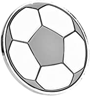 Soccer Flip Coin, Anti-Rust Hard Alloy Football Referee Judge Toss Coins Pick Side with Case for Matches Train