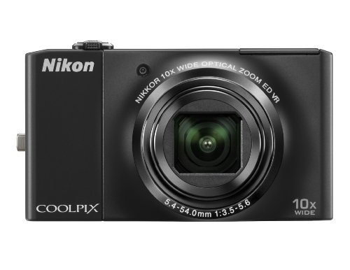 Glasses 921 (Nikon Coolpix S8000 14.2MP Digital Camera with 10x Optical Vibration Reduction (VR) Zoom and 3.0-Inch LCD (Black))