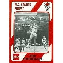 Tim Stoddard Basketball Card (N.C. North Carolina State) 1989 Collegiate Collection No.51