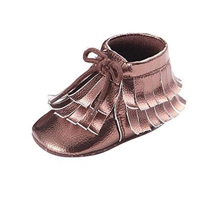 huge discount eb810 df211 A-goo Infant Chaussures Chaussures de princesse bébé fille Semelle souple  Chaussures à semelles souples