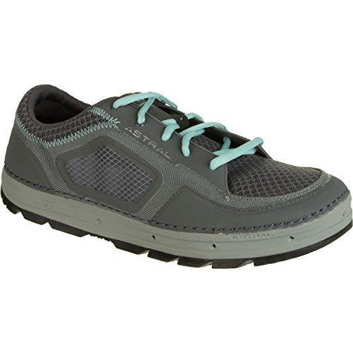 Astral Aquanaut Water Shoe - Women's Gray/Turquoise, 8.5 by Astral