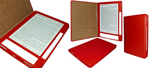 Piel Frama 452 Red Leather Case for Amazon Kindle DX E-Reader